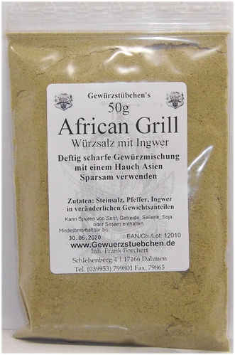 African Grill (50g)