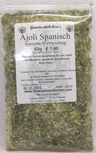 Ajoli Allioli Ajioli (50g)