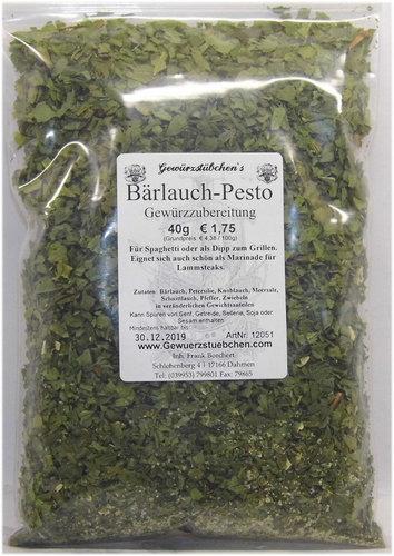 Bärlauch Pesto (40g)