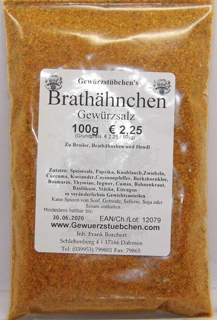 Brathähnchen Gewürzsalz (100g)