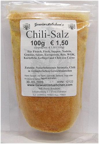 Chili-Salz (100g) fein