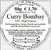 Curry Bombay mild (50g)