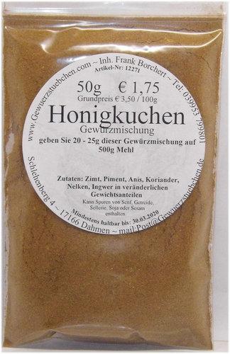 Honigkuchengewürz (50)
