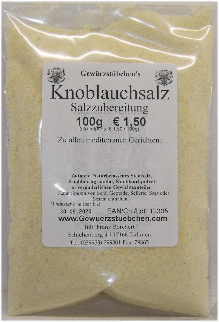 Knoblauchsalz (100g)