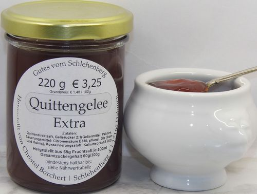Quitten-Gelee (220g)