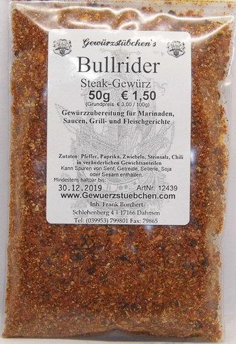 Bullrider SteakGewürz (50g)