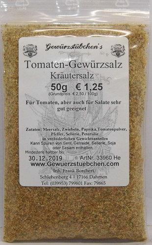 Tomaten - Gewürzsalz (50g)