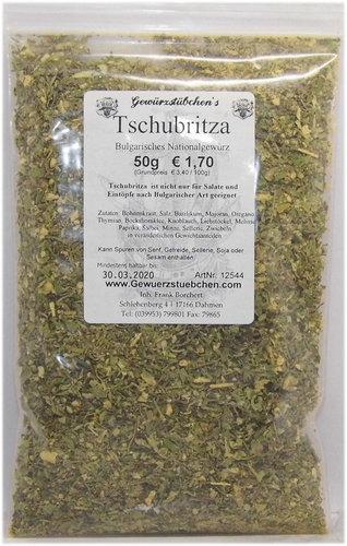 Tschubritza Scharena Sol (50g)