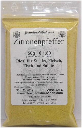 Zitronenpfeffer (50g)