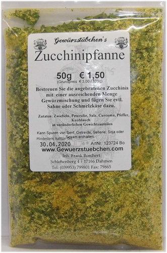 Zucchinipfanne (50g) Zucchini-Gewürz