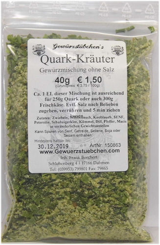 Quark-Kräuter (40g)