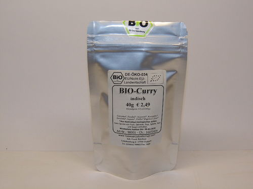 BIO-Curry indisch (40g)