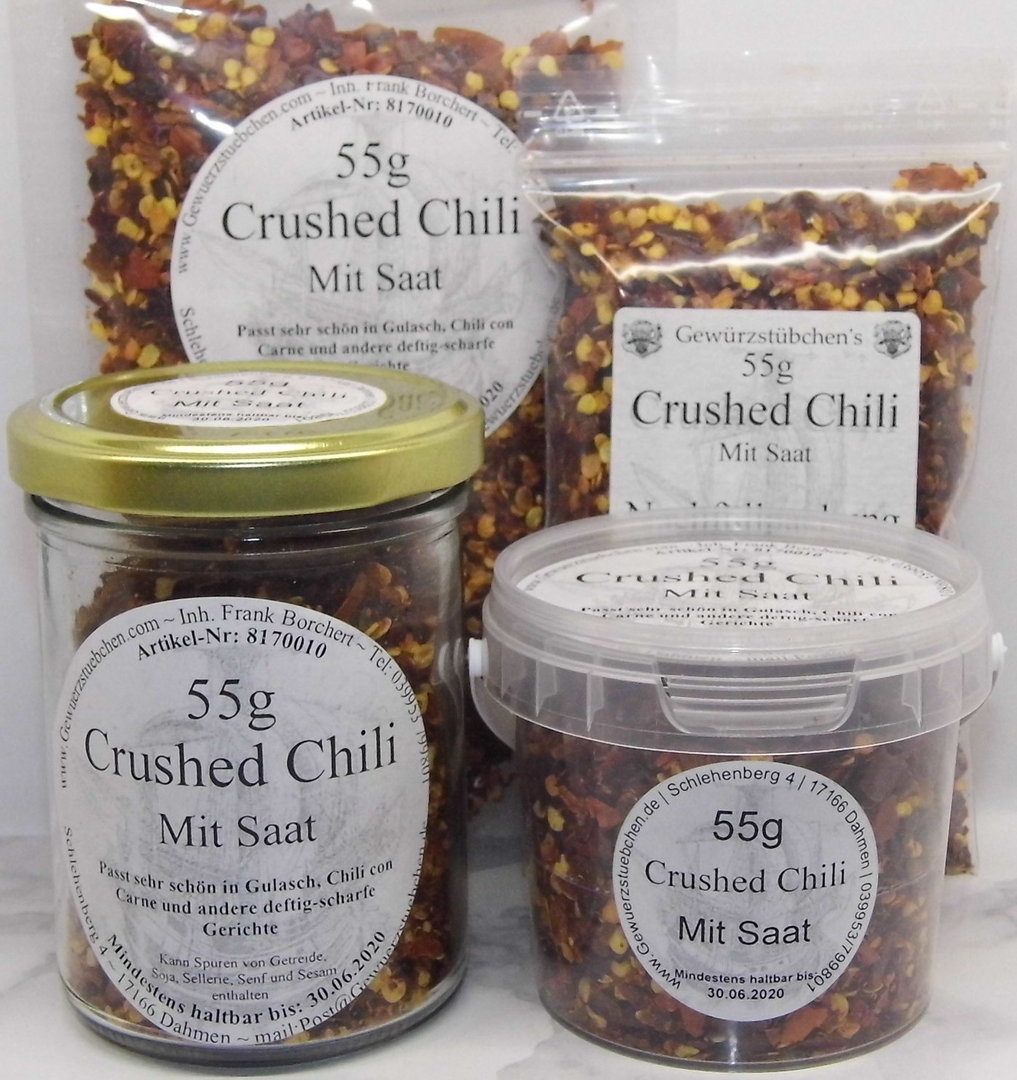 Chili geschrotet (55g) variable Verpackung