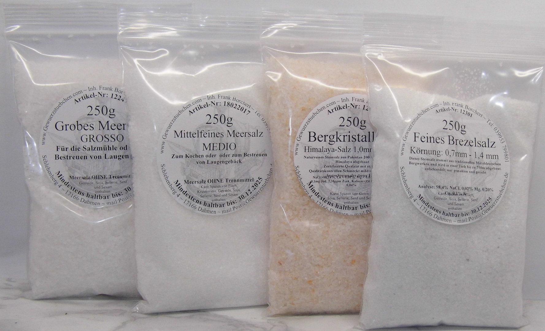 Brezelsalz Kombipack (1kg)