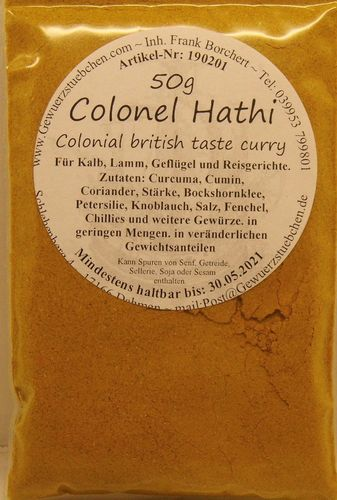 Colonel Hathi (50g) British Taste Curry