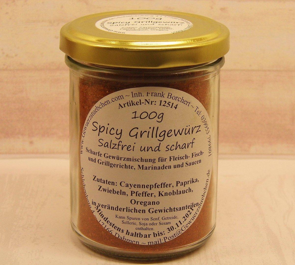Spicy Grillgewürz (100g)