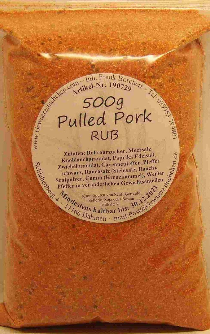Pulled Pork - BBQ-Rub