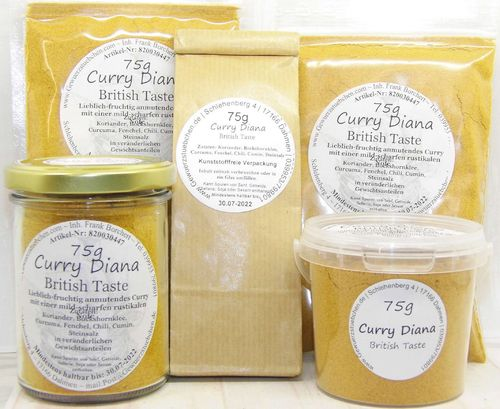 Curry Diana (75g)