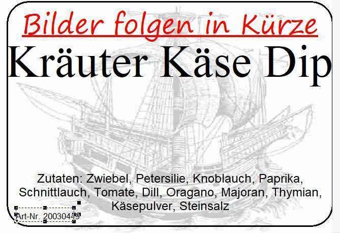 Kräuter-Käse-Dip (50g)